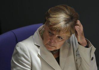 Angela Merkel u Bundestagu