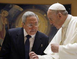 Raul Kastro, papa Franjo