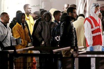 imigranti, Italija
