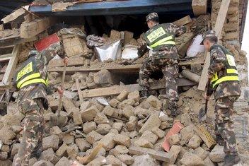 Nepal, zemljotres