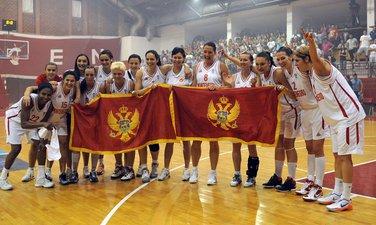 Košarkašice Crne Gore