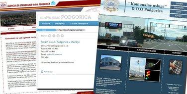sajtovi javnih preduzeća Podgorica