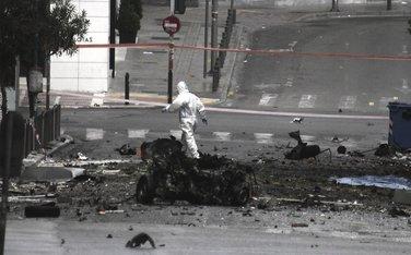 Atina, automobil bomba