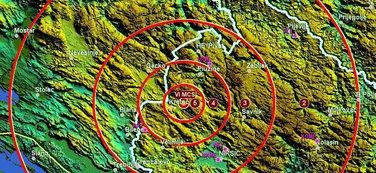 zemljotres Plužine