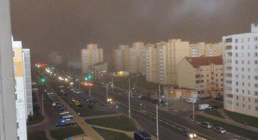 Bjelorusija nevrijeme
