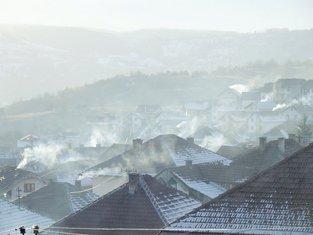 Pljevlja grijanje, zagađenje