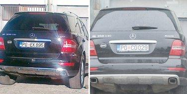 Numanović službena vozila