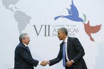Obama i Katro