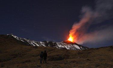 Etna, Erupcija, Vulkan
