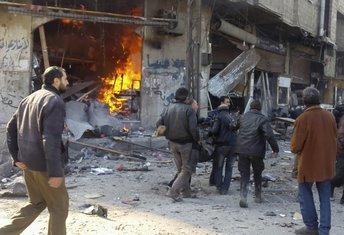 Damask bombardovanje
