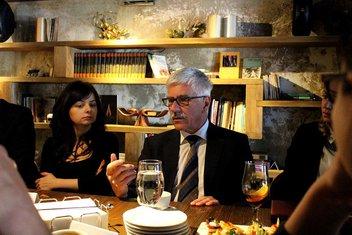 Evropski kafe, CGO, Mitja DRobnič