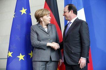 Angela Merkel, Fransoa Oland