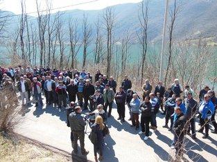 Liverovići, Župa, Protest