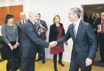 Duško Marković, Jens Stoltenberg