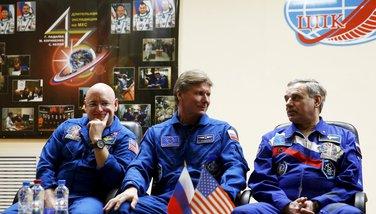 Članovi posade letjelice Sojuz