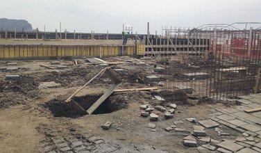 bazen, gradilište, Budva