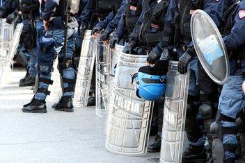 Italija, policija