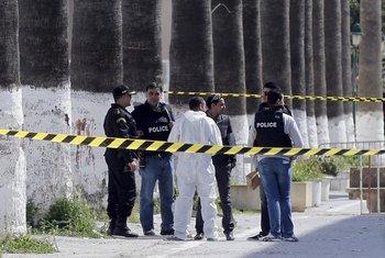 Tunis, policija