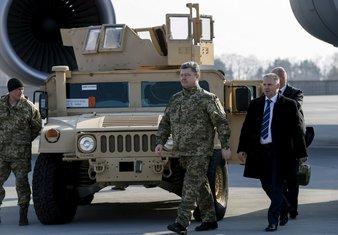 Petro Porošenko, Američki Hameri, Ukrajina