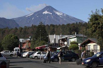 Vulkan Čile