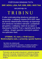 Tribina, Tivat