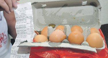 pokvarena jaja, jaja