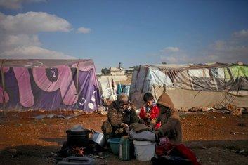 Sirija, izbjeglice