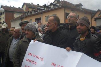 protest, Rožaje
