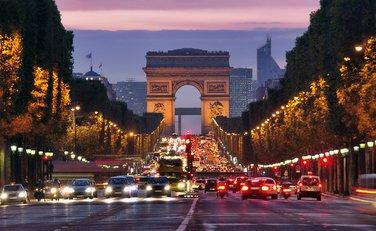 Pariz, saobraćaj