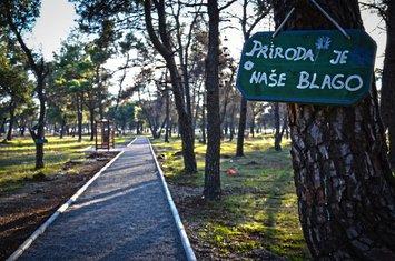 Trim staza i nove trim sprave na Ćemovskom polju