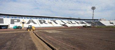 Trava stadion Partizana