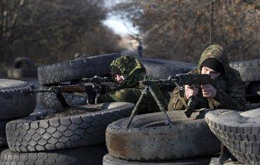 Ukrajina, proruski vojnici