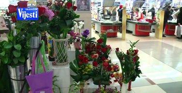 Cvijeće, Dan zaljubljenih