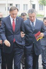 Ranko Krivokapić, Milo Đukanović