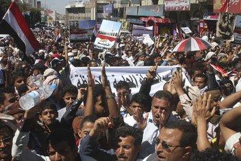 Jemen protesti