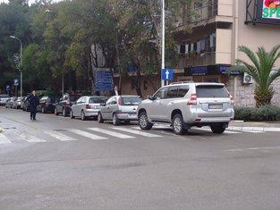 Tivat, parking