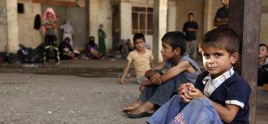 irak, djeca