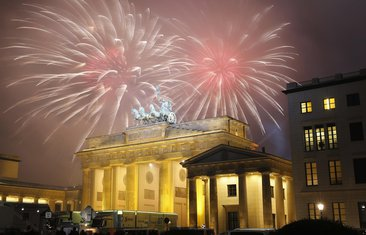 Doček nove godine, Berlin