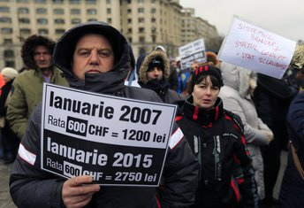 Rumunija, protesti