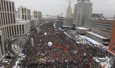 Rusija protesti
