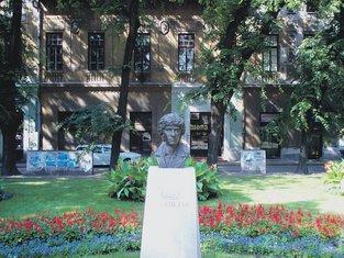 Danilo Kiš spomenik Subotica
