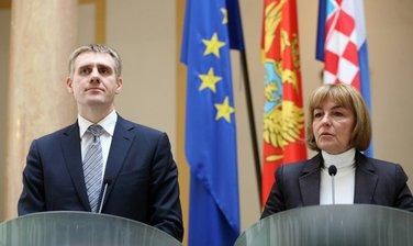 Igor Lukšić i Vesna Pusić