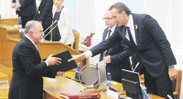 Ivica Stankovć, Ranko Krivokapić, Suljo Mustafić