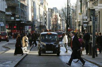 London, taksi