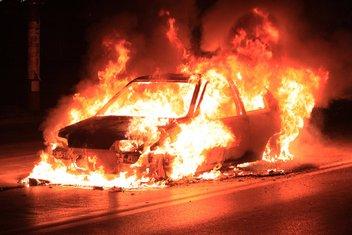 Zapaljen auto
