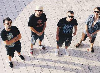 Hip hop bend Kiša