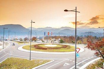 kružni tok, Cetinje