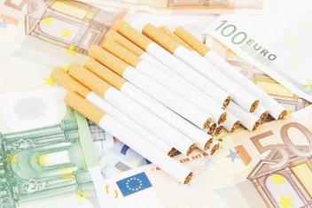 cigarete, novac