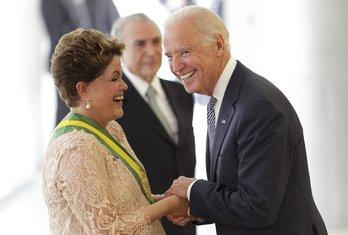 Dilma Rusef, Džo Bajden