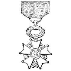 Orden Legije časti, francuska